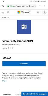 Microsoft Visio Microsoft Visio Professional 2019