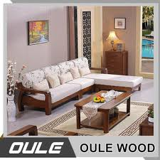 wooden sofa set designs. 2017 New Modern Design Exposed Solid Wooden Frame Living Room Sofa Set Designs