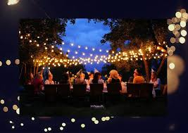 lighting for parties ideas. bistro lights work great too lighting for parties ideas e