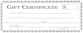 Bakery Restaurant Gift Certificate Template Voucher Word