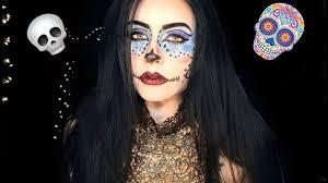 monster high skelita calaveras makeup tutorial