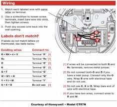 wiring diagrams 7 wire thermostat air conditioner thermostat how to wire a honeywell thermostat with 6 wires at T Stat Wiring Diagram