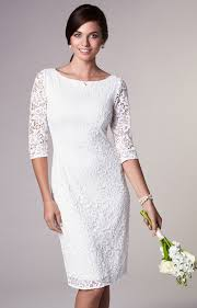 Macie Shift Wedding Dress Ivory Evening Dresses Occasion Wear