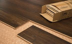 pictures of installing bamboo floors over concrete