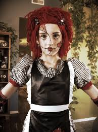 rag doll make up raggedy ann costume boo costume scary costumes