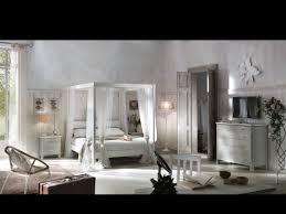 Camera da letto classica spar con letto intarsiato fiores mobili
