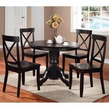 black dining room set round. Tremendeous Round Dining Table Sets Hayneedle At Set Black Room K