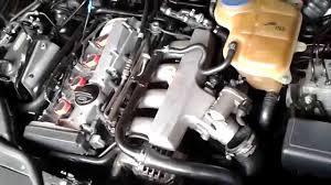 2000 vw passat 1 8t oil in air intake