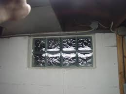 how to install glass block windows basement glass block window replacement 1 white mortar applied and wooden shims removed installation complete