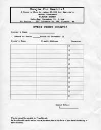 Walk A Thon Form Donation Sponsor Sheets Template Intended For Pledge Fundraising