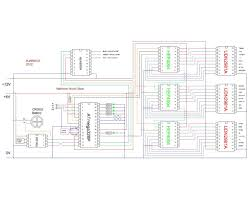 wiring diagram and schematic wiring discover your wiring diagram rainbow word clock using arduino