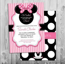 baby shower invitations outstanding diy minnie mouse baby shower invitations ideas to design free printable