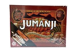 Jumanji Wooden Board Game