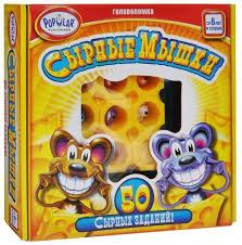 Купить <b>Головоломка</b> Popular Playthings Сырные мышки желтый ...