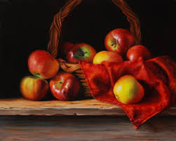 rubens apples oil 16 x20 this painting was a demo