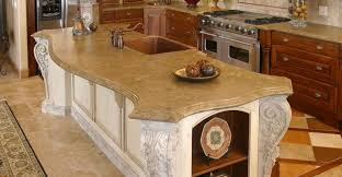 victorian curved concrete countertops stone passion salt lake city ut