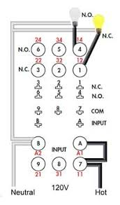 how to wire pin timers 11 Pin Relay Wiring Diagram 120v larger image, 10 pin timer wiring 11 Pin Relay Socket Schematic