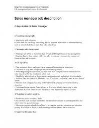 Sales Managermple Job Description Collection Of Solutions Gas
