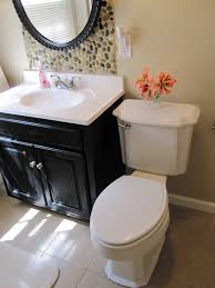 sandstone paint colorRemodelaholic  A River Runs Through It Bathroom Redo Guest