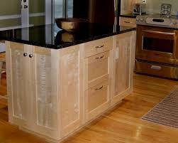 shaker style maple kitchen