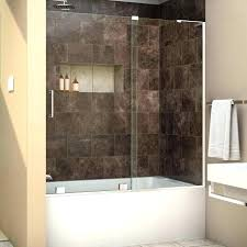 fascinating half glass tub shower doors bathtub doors large size of sliding glass shower door splash