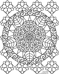 Coloring Pages For Girls Flowers Hard Printable Chronicles Network