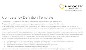 Competencies Meaning Competency Definition Template Au Download Toolkit
