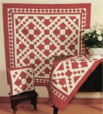 Red Diamond Square Quilts - Country Quilts by Choice Quilts & Red Diamond Square Quilts Adamdwight.com
