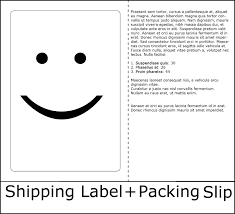 Print Pack Slip And Label On Single Sheet Burris Computer