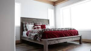 modern farmhouse bed