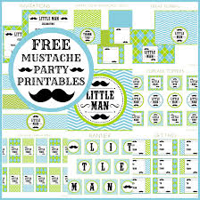 little man mustache bash party printables from printabelle little man mustache bash party printables from printabelle