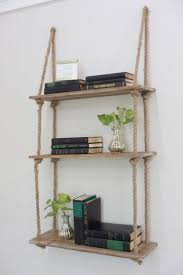 rafter hung shelves hanging from ceiling with cable corner wall storage bedroom restoration hardware rope shelf