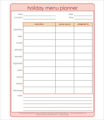 Menu Plan Template Daily Meal Plan Template Template Business