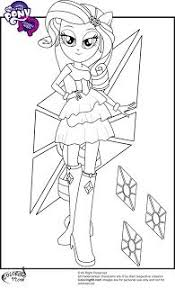 My Little Pony Equestria Girls Coloring Pages Projects To Try My