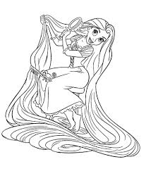 Coloriage Princesse Raiponce Imprimer Resultats Daol Image Search