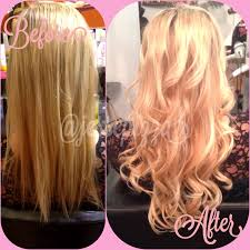 Dream Catchers Hair Extensions Before And After Extensions Halo Salon in Augusta GA 96