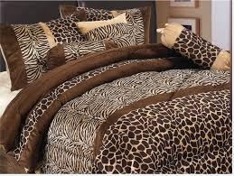 animal print bedding set