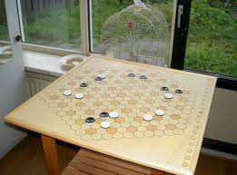 Wooden Othello Board Game NonChess variants on the fly Abstract Games BoardGameGeek 71