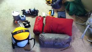 Backpack Pillow My Backpacking Gear Setup Youtube