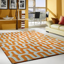 decoration orange and white rug property is the new black moroccan crown modern regarding 0