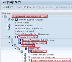 T Code To Display Chart Of Accounts In Sap Assign Company Code To Chart Of Accounts In Sap Sap