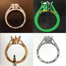 do you need a cad for your custom enement ring