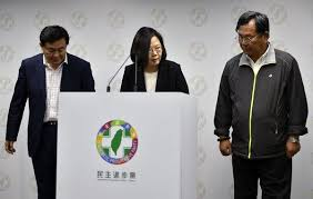 After 's Quits Party Stinging Taiwan As Chief President In Losses 6ZxFPY