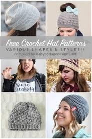 Free Crochet Hat Patterns For Women Amazing Free Crochet Hat Patterns Daisy Cottage Designs