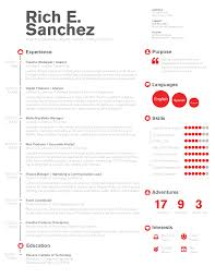 Digital Marketing Resume Template Simple Clean Infographic Timeline Resume Design For Digital 11