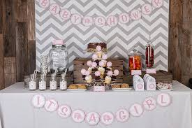 3 great idea for pink and grey baby shower decorations