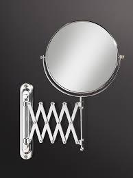 hib rossi extendable magnifying bathroom mirror 27200