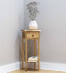 corner tables for hallway. Image Is Loading Small-Hallway-Rustic-Wooden-Plant-Stand-Table-Shelf- Corner Tables For Hallway D