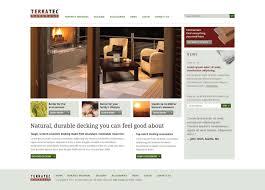 Website Design Seattle Wa Terratec Website Design By Fred Lebhart At Coroflot Com