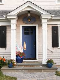 painted front door color ideas. bright blue front door color ideas painted